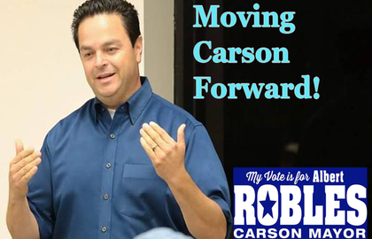 Attorney Albert Robles for Carson Mayor – It's A No-Brainer