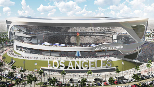 NFL stamps out Al Davis torch plans, bumps up stadium …