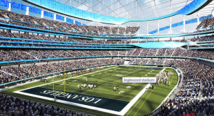 Proposed NFL stadium in Inglewood faces FAA scrutiny over height, effects on radar