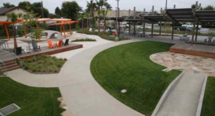 Lawndale's new Rudolph Park offers a walking trail and water-play area