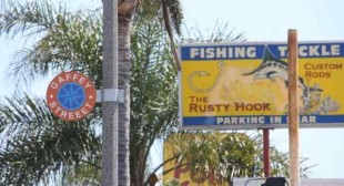 Why San Pedro has embraced Gaffey Street gaffe on decorative signs