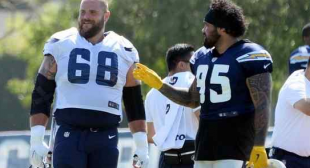 Rams, Chargers trying to find right mix on offensive line