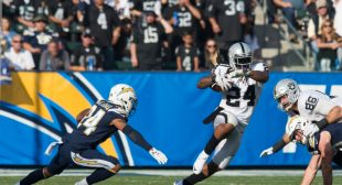 The Chargers beat the Raiders on New Year's Eve