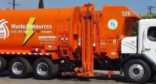 Carson Mayor Albert Robles and Council First to Use Electric Trash Trucks